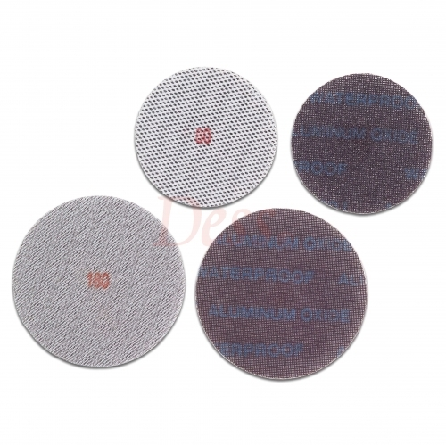 Back-Floss Netted Abrasive Cloth, #40~#600 Aluminum Oxide