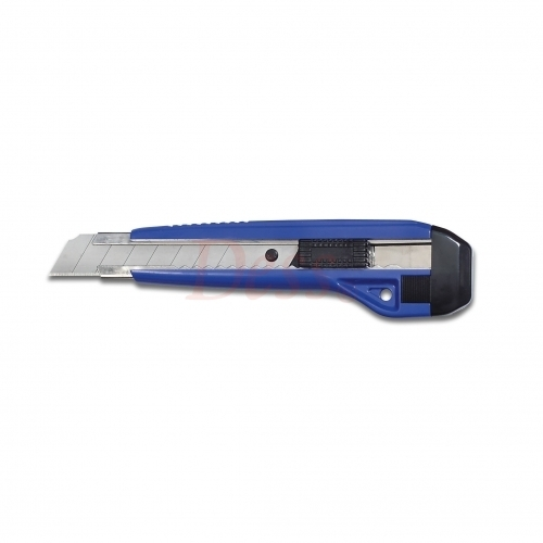 18 mm Snap-off Knife, Auto Lock, w/2 Extra Blades