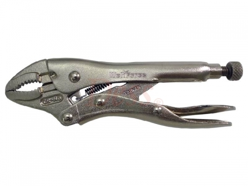 CURVED JAW LOCKING PLIER W/ WIRE CUTTER